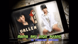 Lirik Lagu Mama Aku Ingin Pulang - Via Valen