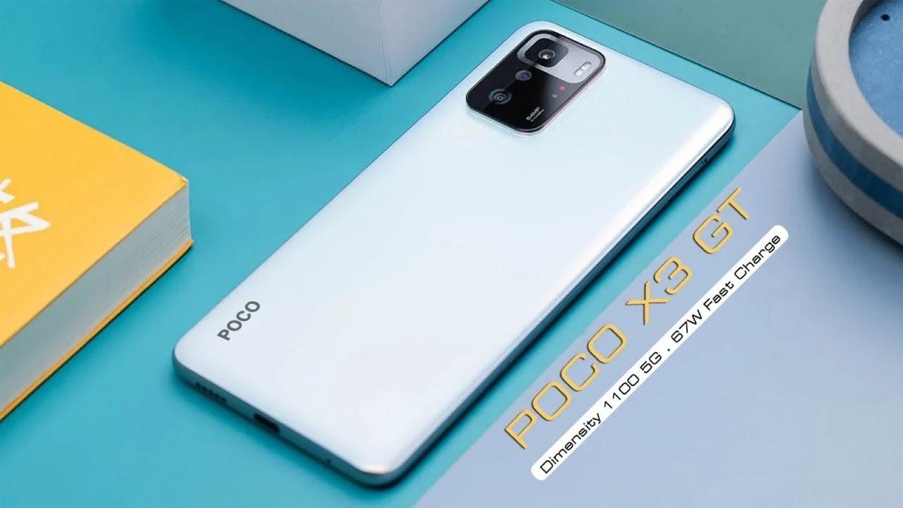 تعرف على هاتف POCO X3 GT المخصصة للاعبين الذي سيحصل على شحن سريع يبلغ 67 واط