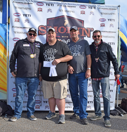 Heavy Smoke won 6th place at the 2019 Smokin' with Smithfield National Barbecue Championship