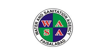 Water and Sanitation Agency Faislabad WASA logo