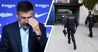 Police raid Barcelona offices amid corruption investigation