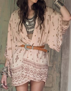 Tribal Printed Fancy Collarless Cardigan