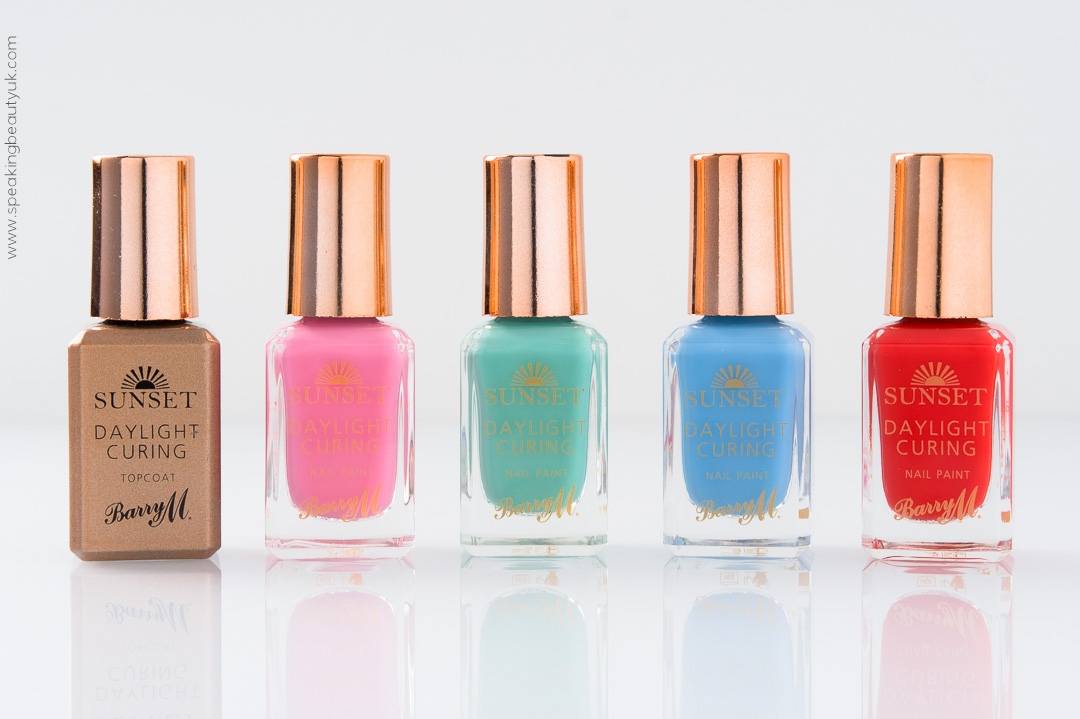 Barry M Sunset Daylight Curing Nail Paint Spring 2016