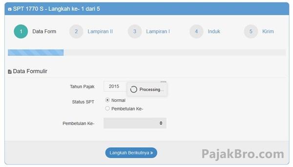 Cara Mengisi SPT Tahunan Online dengan Efiling DJP Online Update 2016