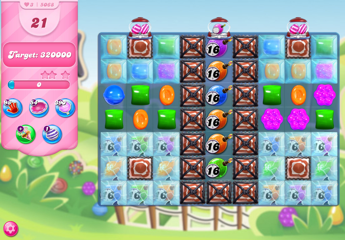 Candy Crush Saga level 5068
