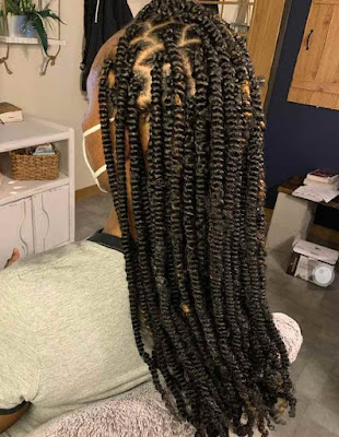 Best Nubian twist braiding hairstyles for ladies