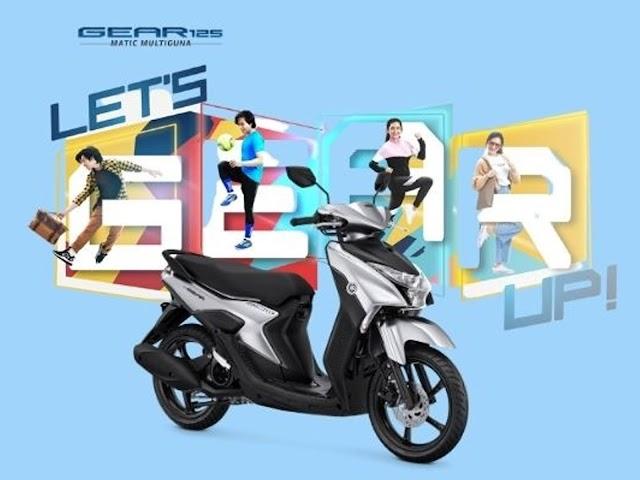 Yamaha GEAR 125, Matic Multiguna Buat Gaya Hidup Aktif Anak Muda dan Tampil Beda