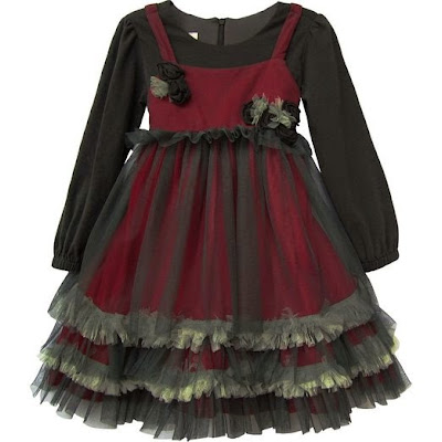 Christmas Dresses For Goth Babies And Little Goth Girls