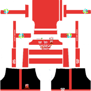 Madura United Kits Dream League Soccer 2018-2019