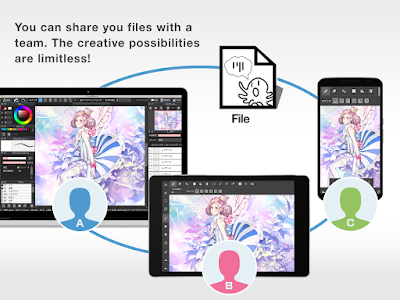 MEDIBANG PAINT (MOD, ALL PACK UNLOCKED) APK FOR ANDROID