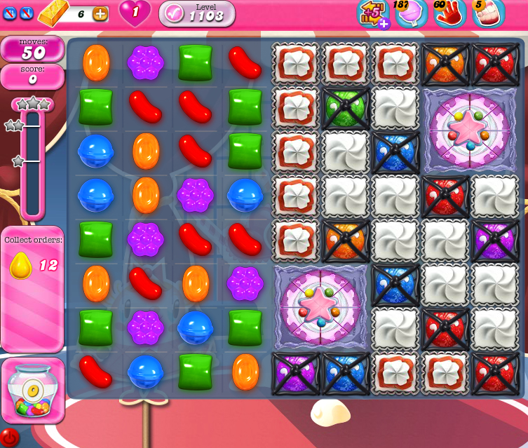 Candy Crush Saga 1103