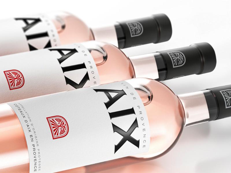 AIX Rosé wine