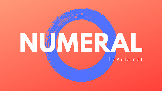 Língua Portuguesa: O que é Numeral
