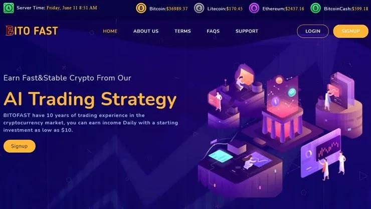 Новая платежная система в Bitofast