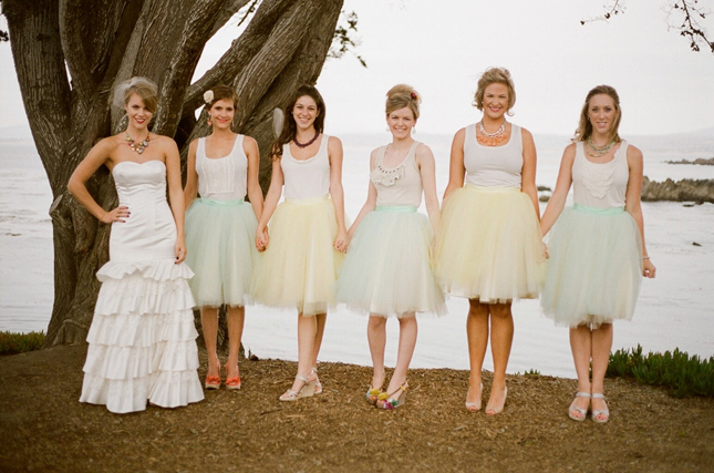 {Wedding Trends} : Bridesmaids in Skirts - how to styled ...