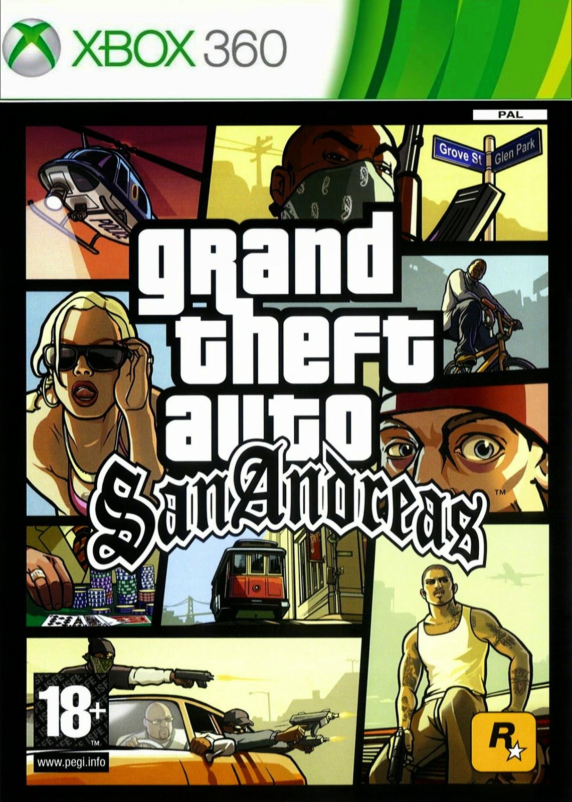 Todoxbox360rgh Gta San Andreas Hd Xbox360 Rgh Mega