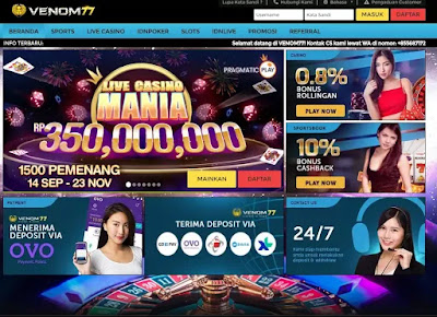 Venom77 Situs Judi Slot Online Dan Judi Bola Online