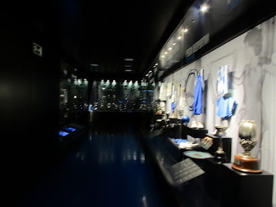 Troféus no Museu do FC Porto