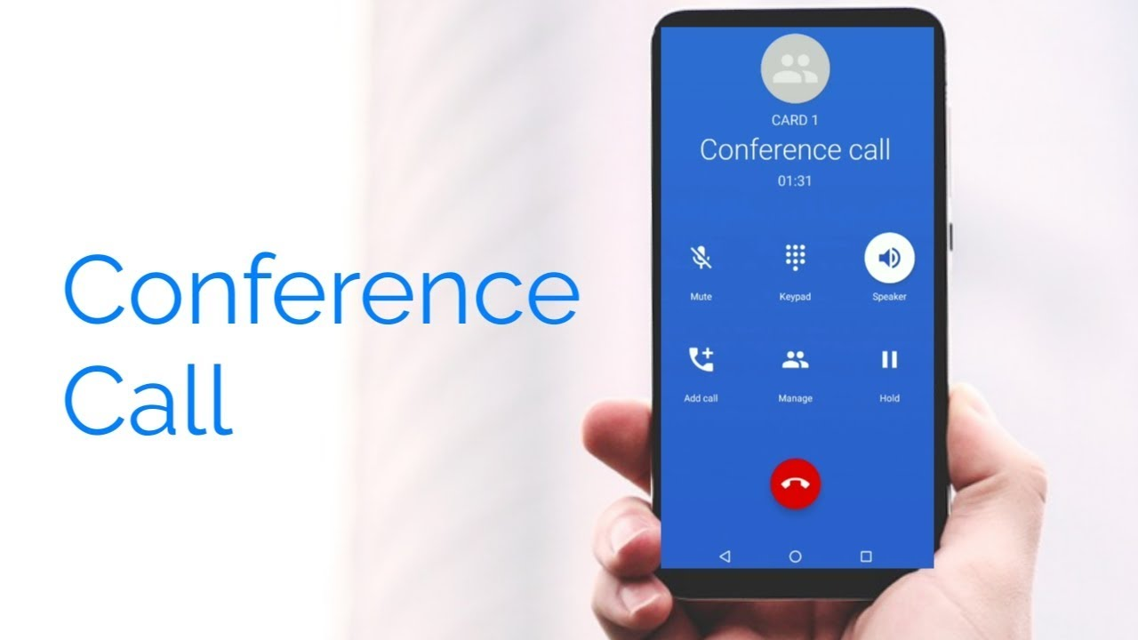 How to Make a Conference Call on Smartphones - conference call settings in  android