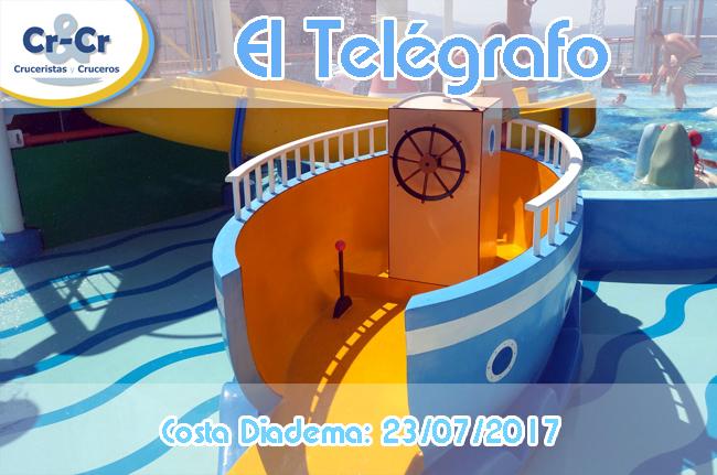 EL TELÉGRAFO - SÉPTIMO DÍA - COSTA DIADEMA 17/07/2017 AL 24/07/2017