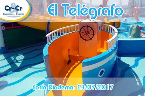 EL TELEGRAFO - SEPTIMO DIA - COSTA DIADEMA 17/07/2017 AL 24/07/2017