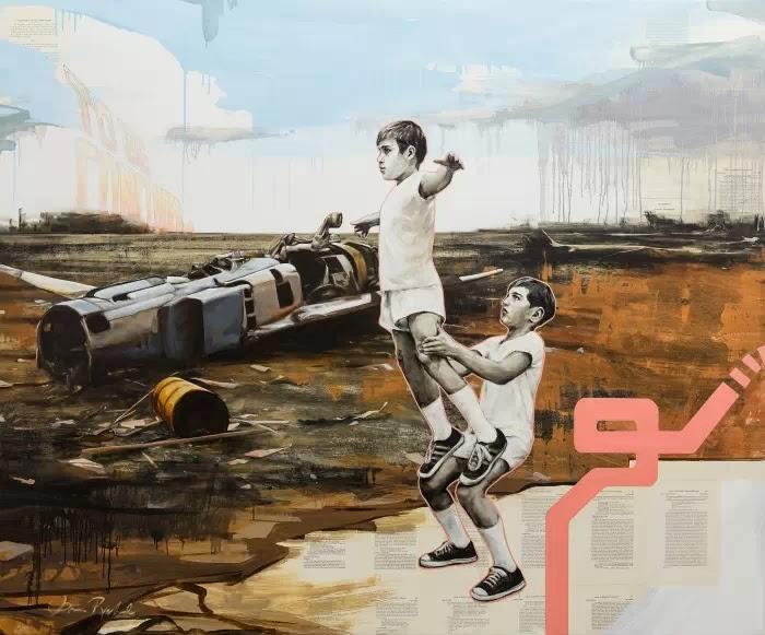 Американский художник. Shaun Richards