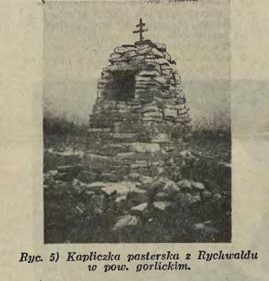Rychwałd kapliczka 1934