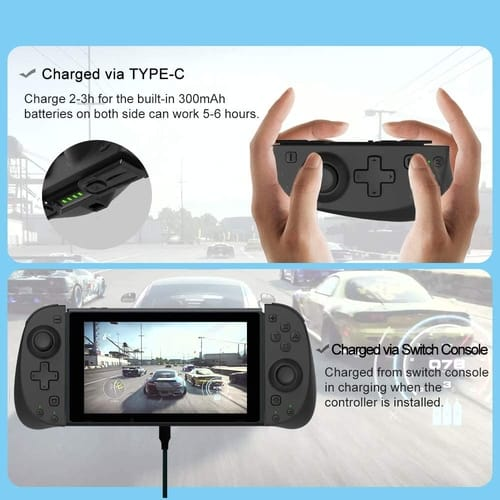 TUTUO Wireless Joy-Con Controller for Nintendo Switch