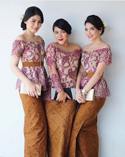 Model Kebaya Pesta Simple