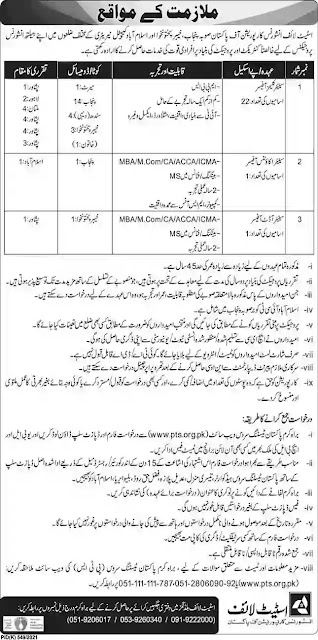 New Jobs in State Life Corporation of Pakistan