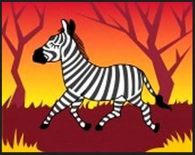 Cebra, cuento fantástico de animalitos