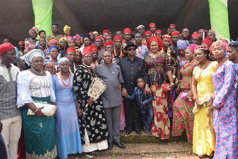 Photos: Governor Willie Obiano and his family visit FCET Umunze