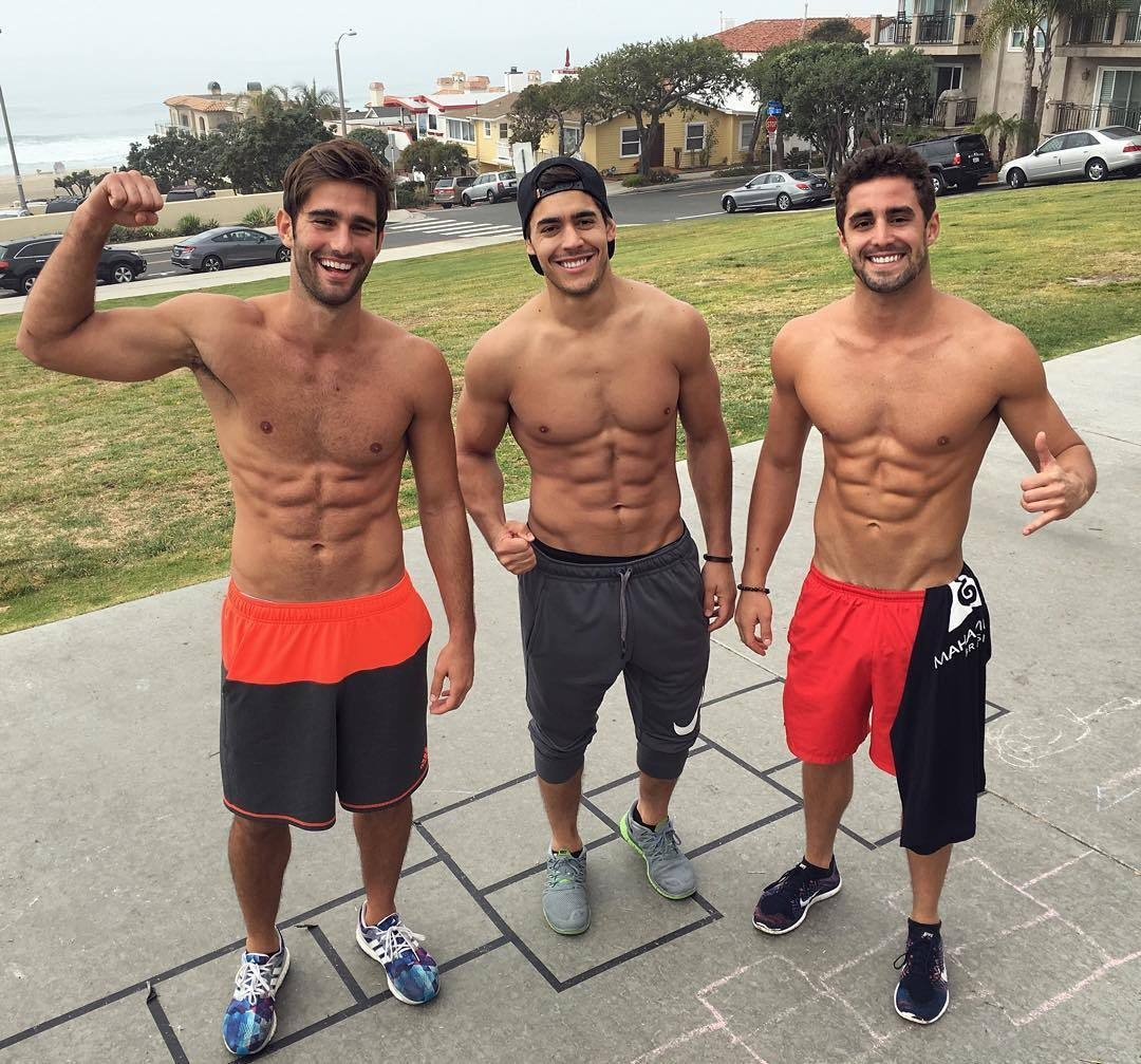 three-shirtless-boys-killer-abs