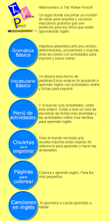 INGLÉS.RECURSOS EDUCATIVOS. THE YELLOW PENCIL