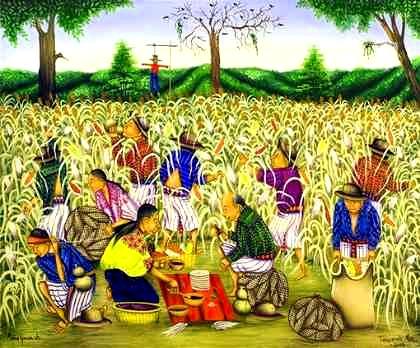 actividades economicas de los mayas