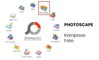 cara kompress foto banyak sekaligus