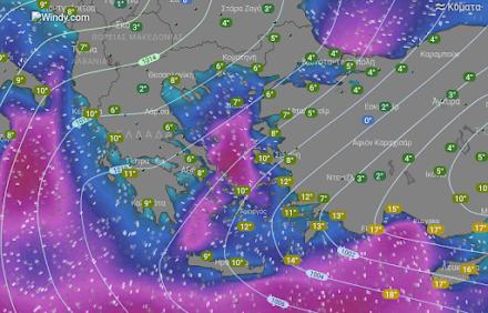 Βελτιωμένος αύριο ο καιρός στα δυτικά - Χιονοπτώσεις στα ορεινά και ημιορεινά της υπόλοιπης χώρας