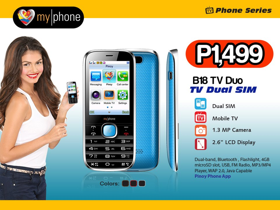 MyPhone B18 TV Duo: Price, Specs and Availability in the Philippines