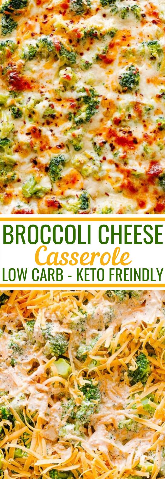 Broccoli Cheese Casserole #healthy #glutenfree #casserole #lowcarb #chicken