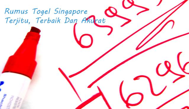 Rumus Togel Singapore Terjitu, Terbaik Dan Akurat
