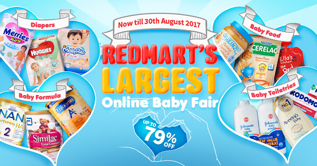 Redmart's largest online baby fair