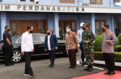 Kunker ke Riau dan Kepri, Presiden Tinjau Vaksinasi COVID-19 dan Pembangunan Infrastruktur