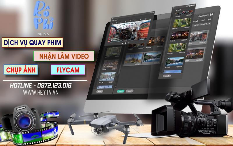 Dịch vụ làm video clip ((rẻ))
