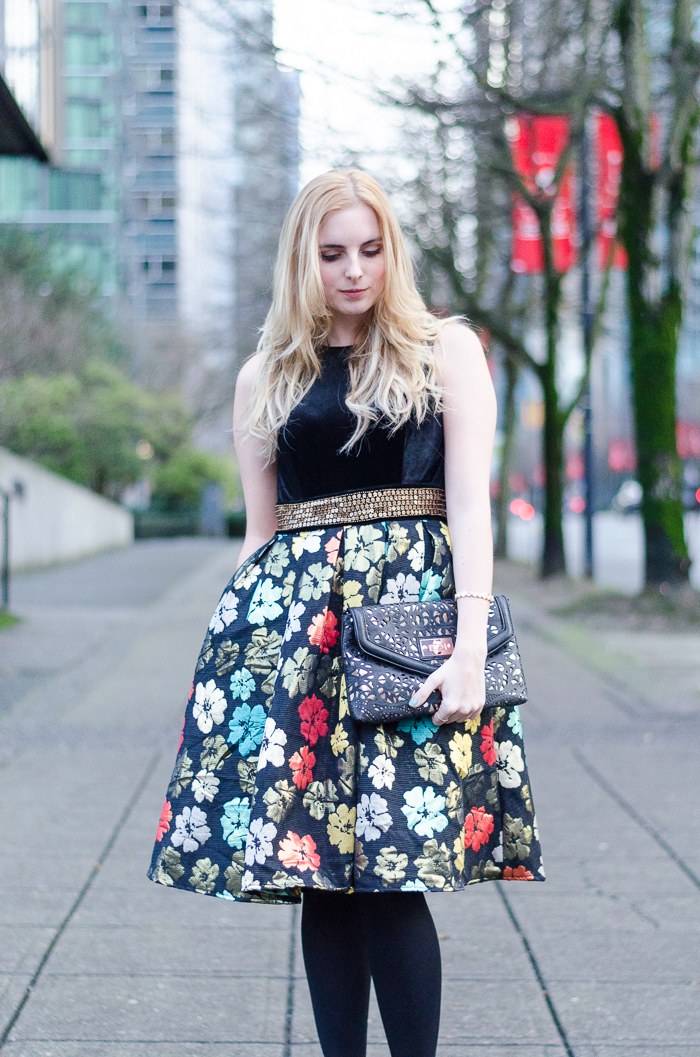 Vancouver Style Blogger Holiday Outfit