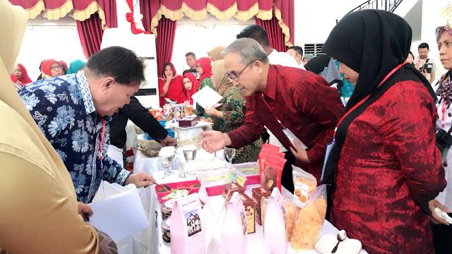 Wakili Soppeng, Kecamatan Lilirilau Boyong Juara di Festival Pangan Lokal