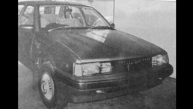 Holden Lincah sedan diesel 2000cc