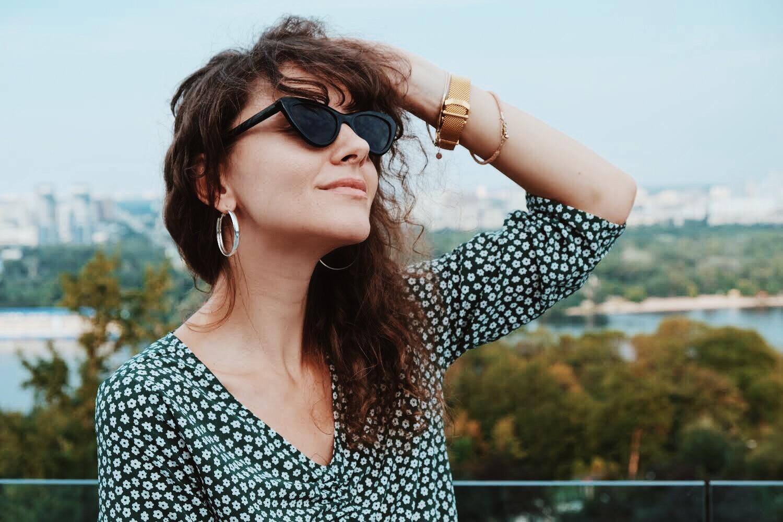 очки кошечки vougue