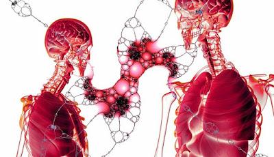 Ilustrasi kanker paru-paru.