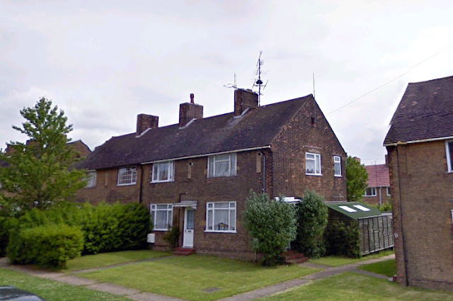 21 Windsmoor Road is the end of terrace house in the center. Whilst serving in the British Army's Royal Corps of Signals John Latter (me!) worked at nearby NATO FSS Stenigot but lived on this RAF station from 1975 until 1978. Ex-wife Janice, and son Jonathan Adam Latter.