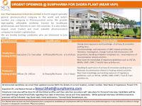 B.Pharm/ M.Pharm Jobs Vacancy For Officer/Sr. Officer in Sun Pharmaceutical Industries Limited